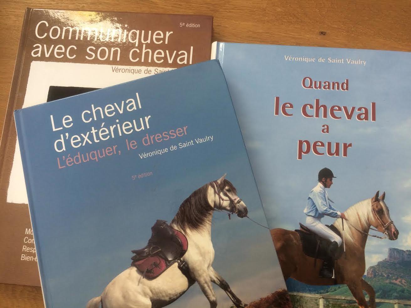 Véronique de Saint-Vaulry : livres sur le comportement du cheval