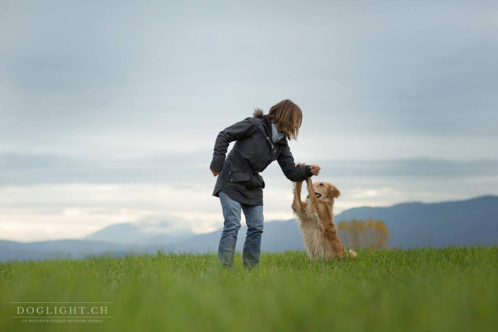 La proprioception avec son chien