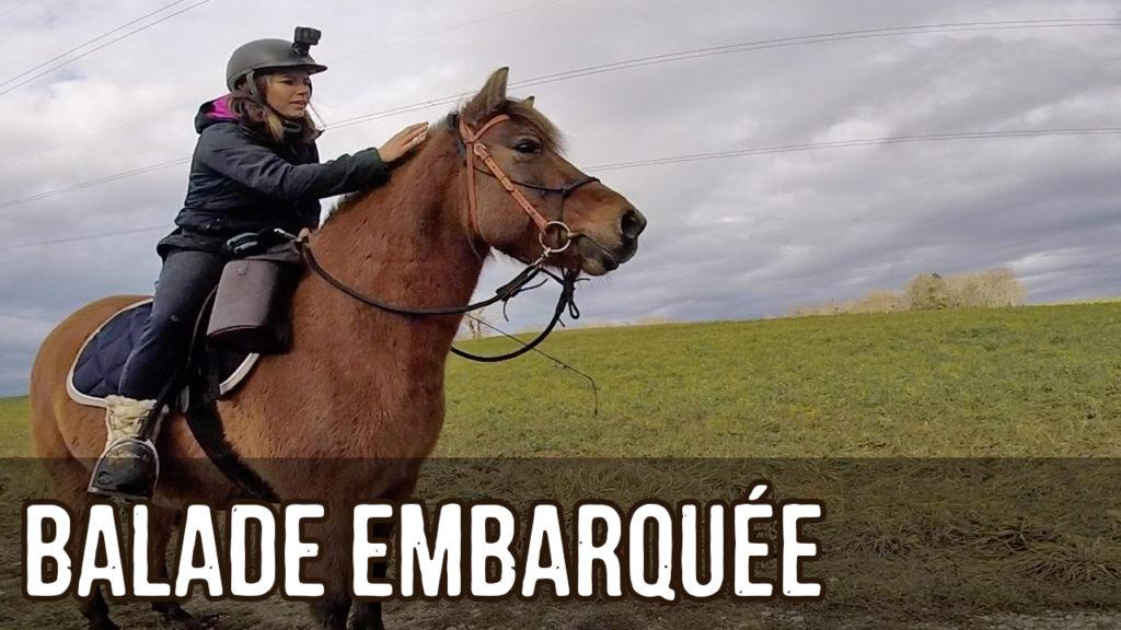 Balade à cheval – Caméra GoPro embarquée